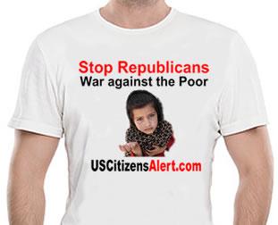 war-against-poor-tshirt